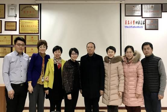 中译语通科技(青岛)有限公司副总经理张慧一行到院交流